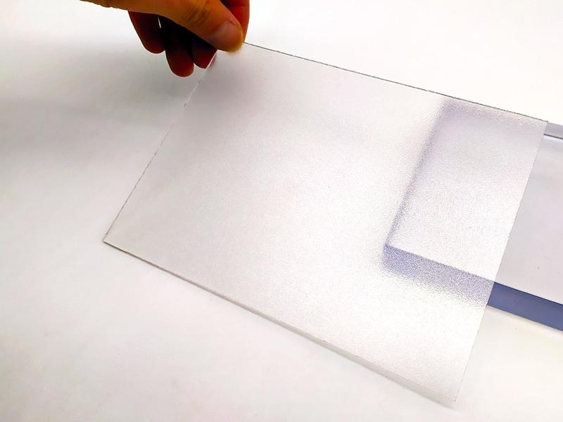 UVPLASTIC polycarbonate Givré