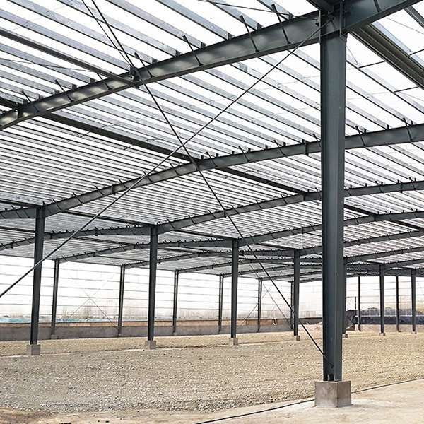 Toiture de bâtiment polycarbonate