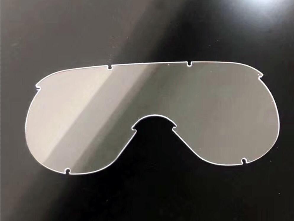 plaque polycarbonate anti buée optique