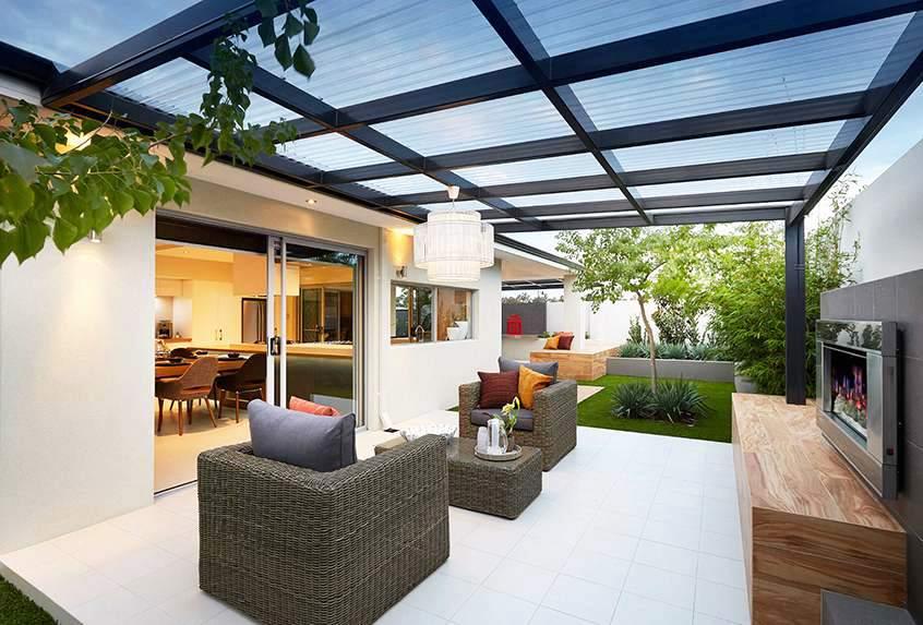 Couverture de patio