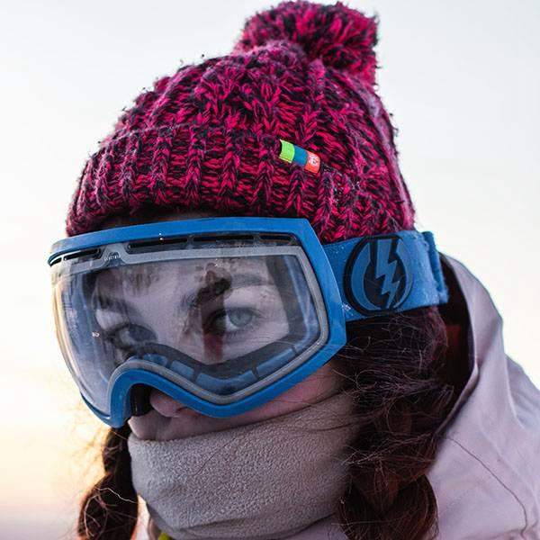 Visière Lunettes de neige polycarbonate anti buée