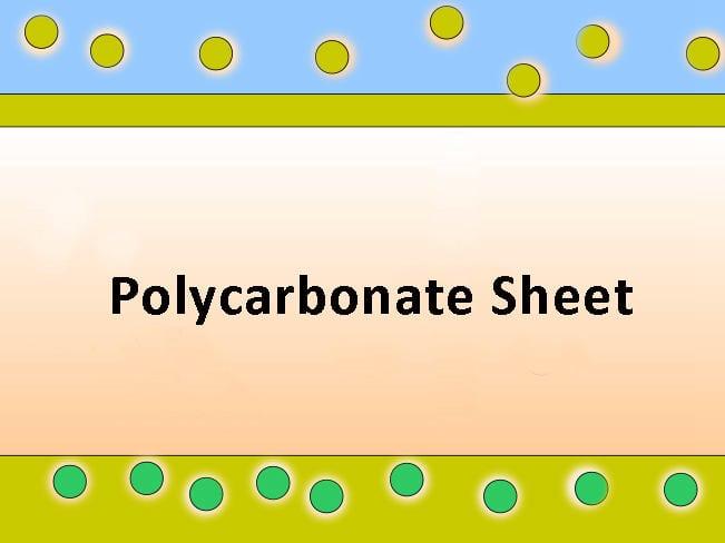 couche de revêtement du polycarbonate