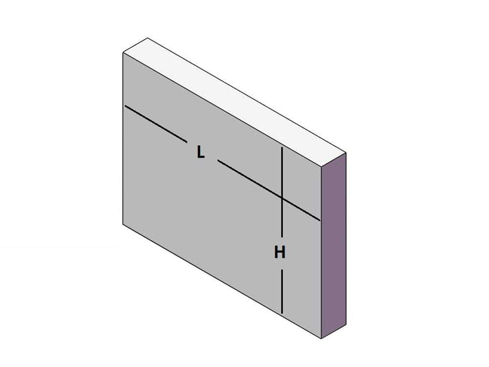 taille du polycarbonate