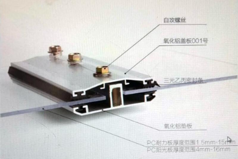 Accessoire de toiture polycarbonate