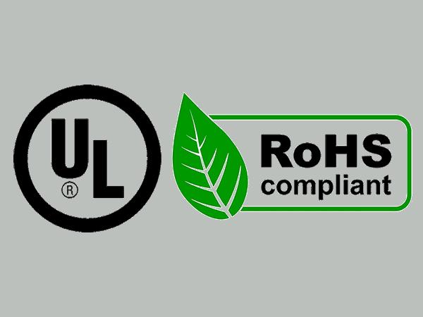 UL et RoHS de la plaque polycarbonate