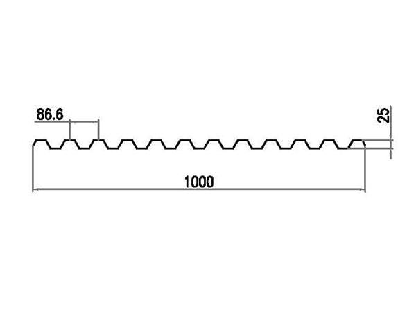 polycarbonate ondulé