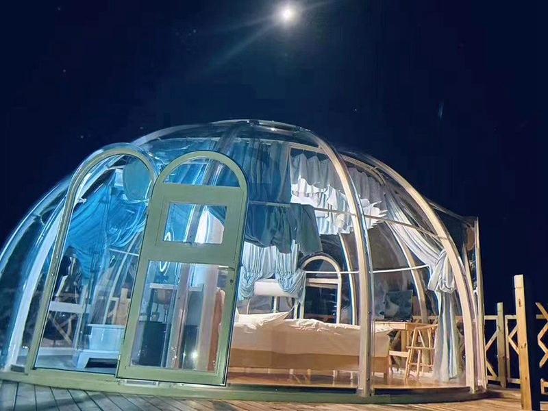 Tente bulle transparente 6m
