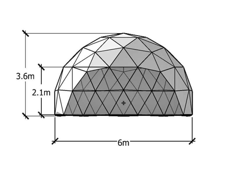 Dôme Géodésique 6m