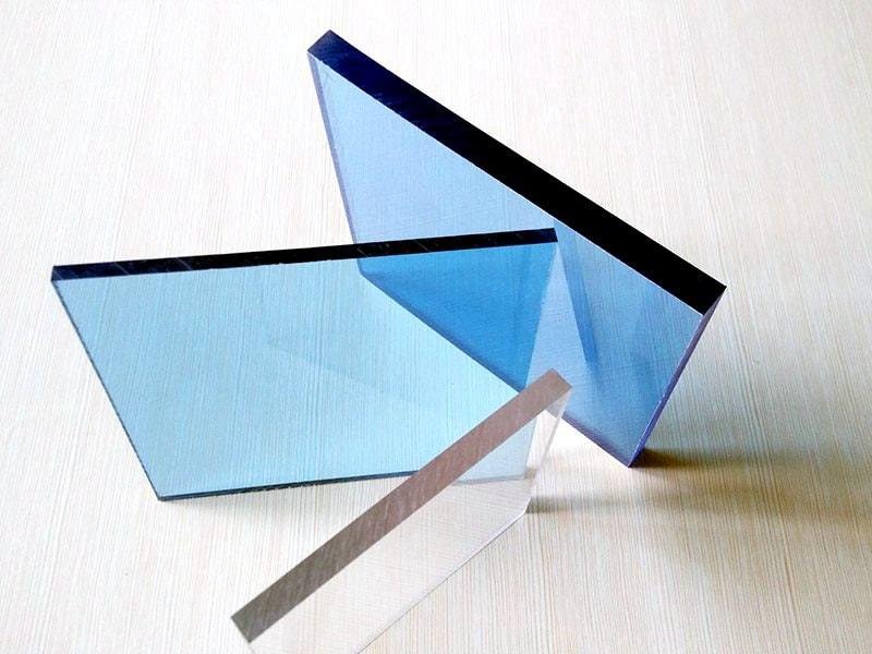 Plaque Polycarbonate plat