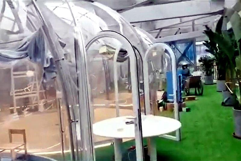 Salle de cours à bulles