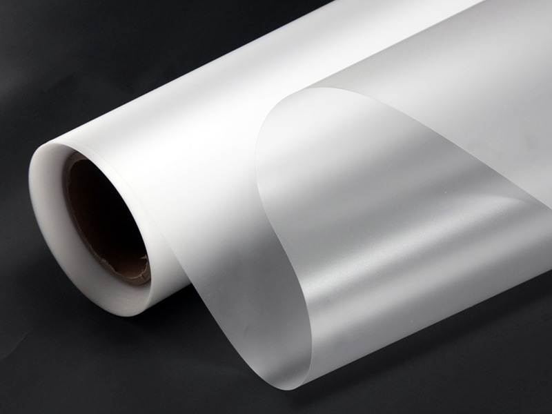 Plaque Polycarbonate Givré Imprimable