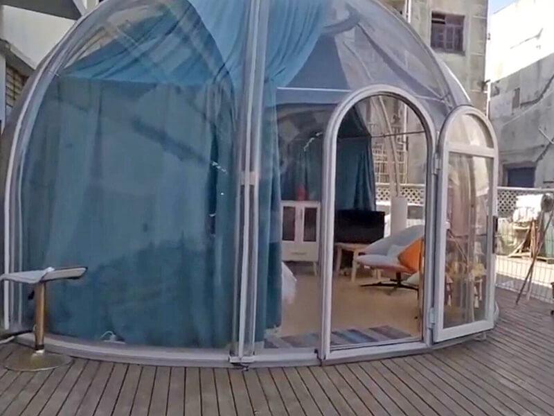 cabane à bulles