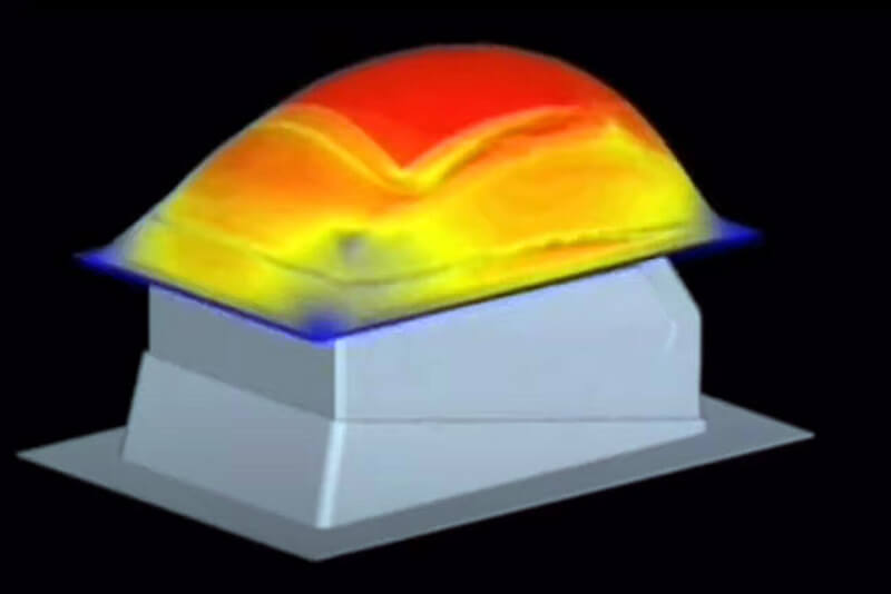 Thermoformage du polycarbonate