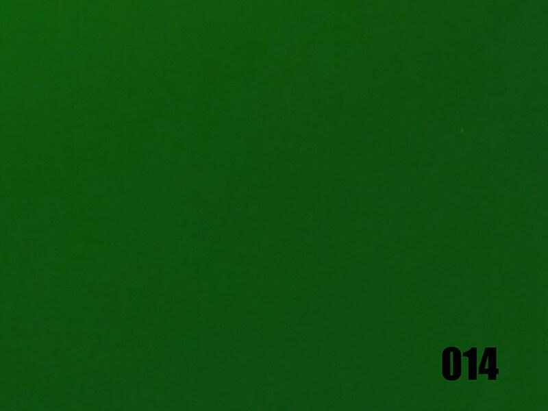 Miroir plastique vert foncé