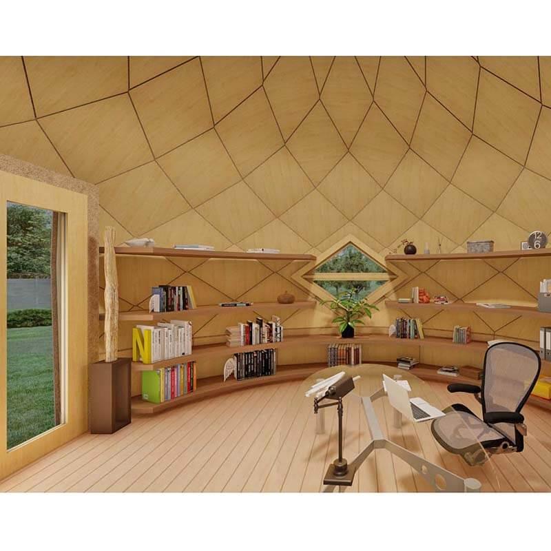 Dôme Géodésique pour la cabane