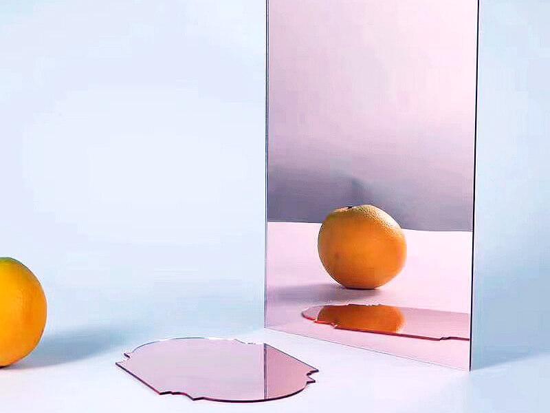 Plaque Miroir Plexiglass