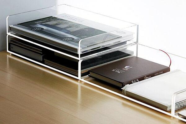 Fournitures de bureau Plexiglass