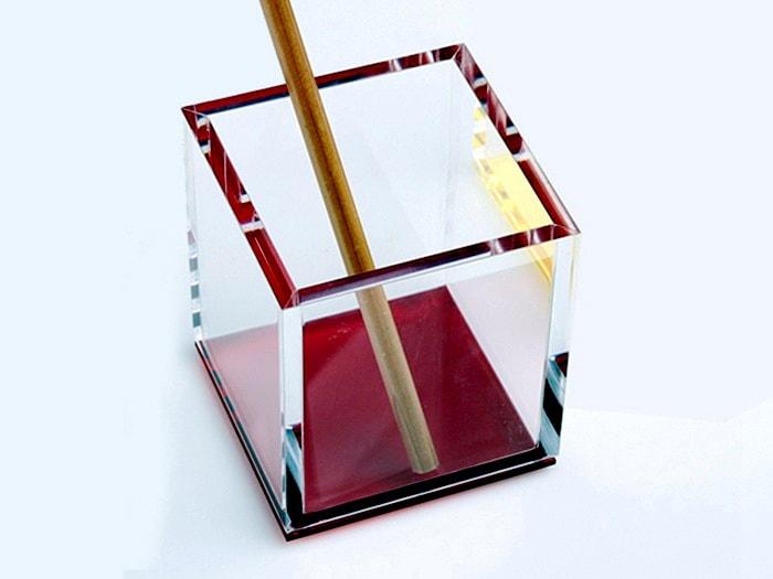Porte stylo plexiglass