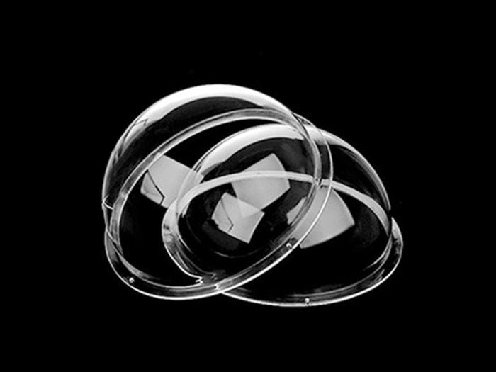 Dôme acrylique transparente