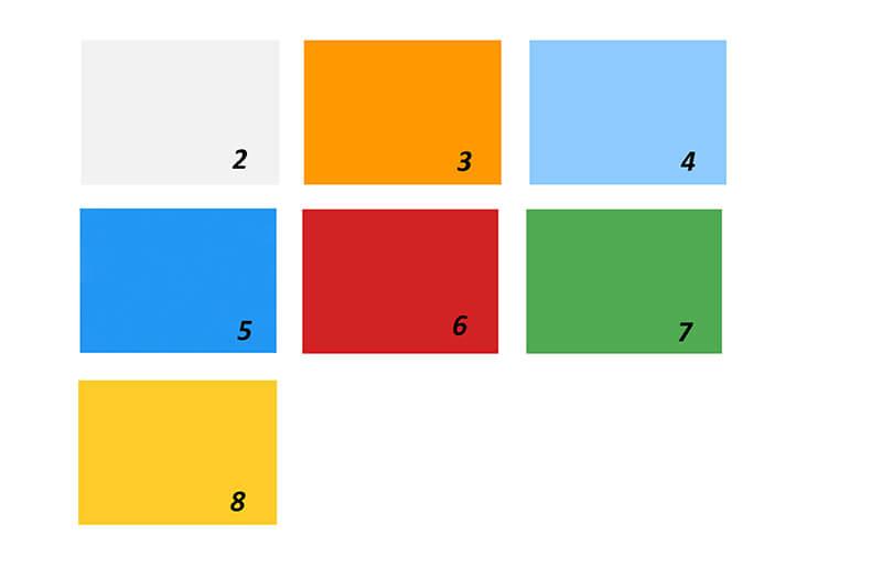 Gamme de couleur de façade Polycarbonate