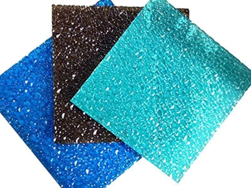 Polycarbonate texturé