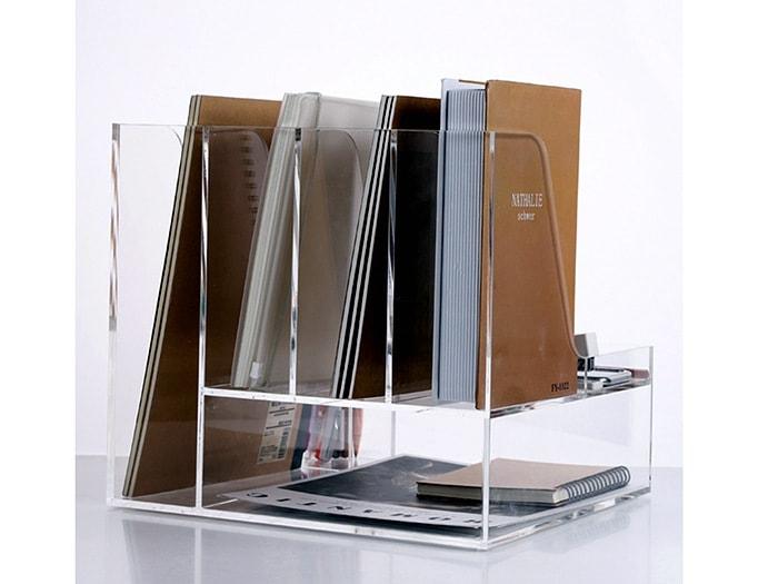 Porte livre plexiglass