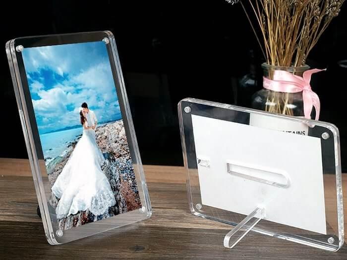Cadre photo plexiglass