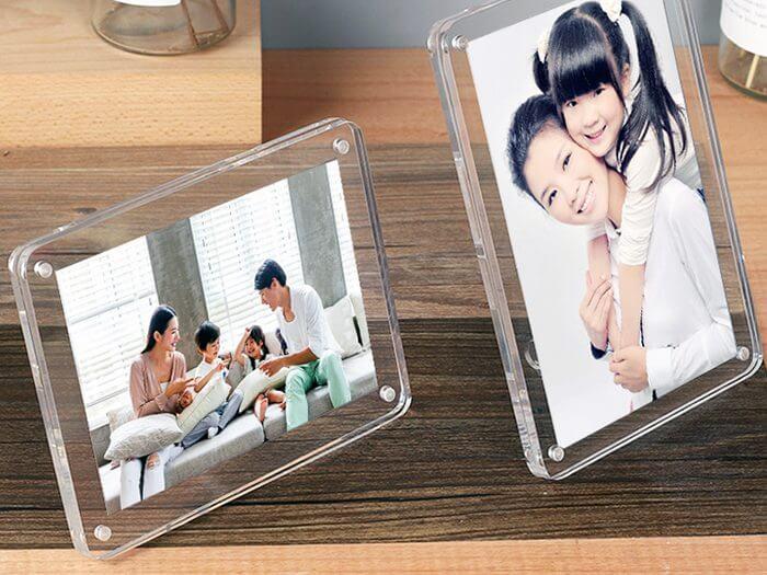 Cadre plexiglass
