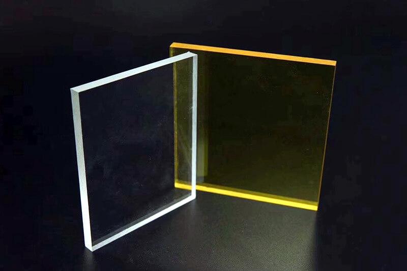 Plexiglass transparent Teinté