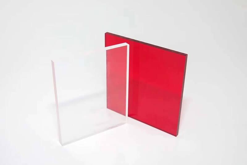 Plaque Plexiglass Teinté